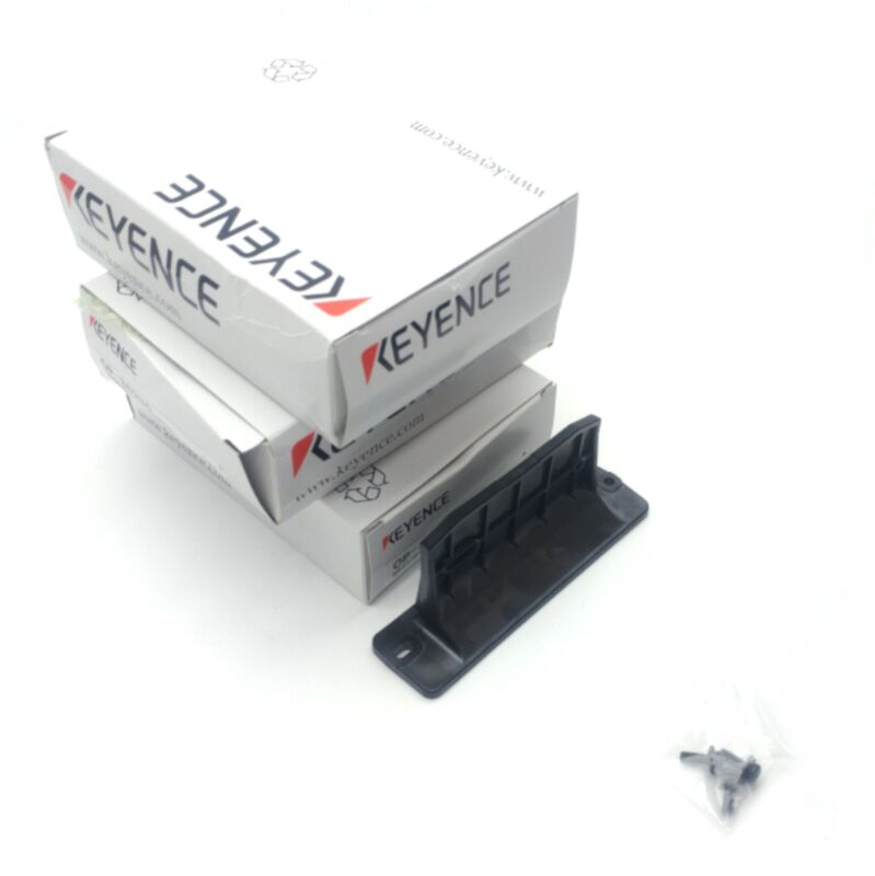 Lot of 3 Keyence OP-88294 Clamp On Flow Sensor Bracket, For FD-X Series