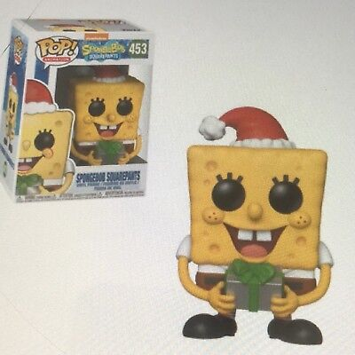 Funko Pop Xmas Spongebob Squarepants Vinyl #453 In Stock Now