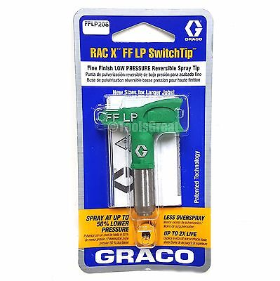 Graco Rac X Fflp 208 Fine Finish Paint Spray Tip Size 208