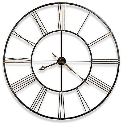 625-406 POSTEMA 49 LARGE WROUGHT IRON WALL CLOCK - HOWARD MILLER  625406