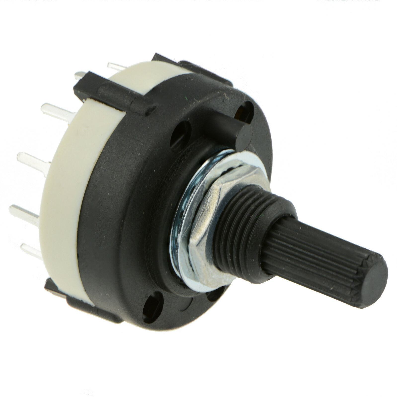 Rotary 2 Pole 6 Way    Position Pcb Mount Switch