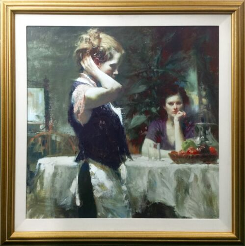 """Pino """"wishful Thinking""""   Signed Giclee/canvas   30x30"""" Framed   Make An Offer"""