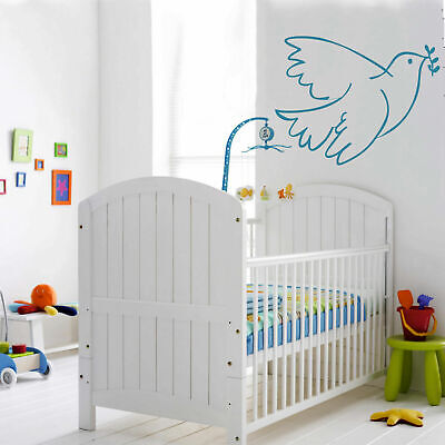 Wall Decal Sticker Birds Frying Gulls Pigeons Animals Wings Bedroom Dorm I14 for sale  Shipping to India