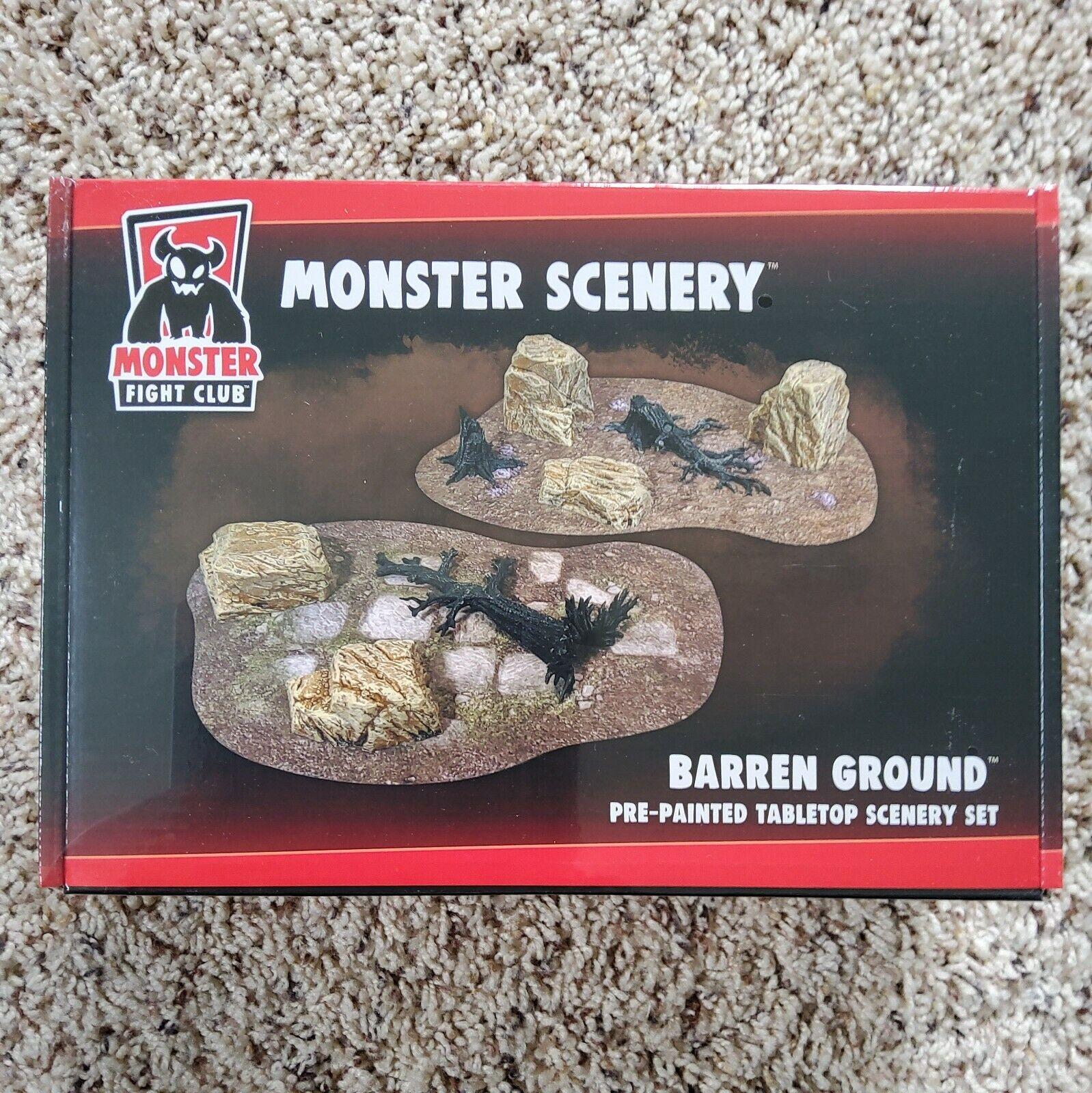Monster Scenery - Barren Ground- Monster Fight Club - NEW UNOPENED