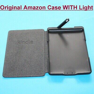 Official / Genuine Amazon Kindle 4th/5th Generation Black Leather Cover Case  na sprzedaż  Wysyłka do Poland