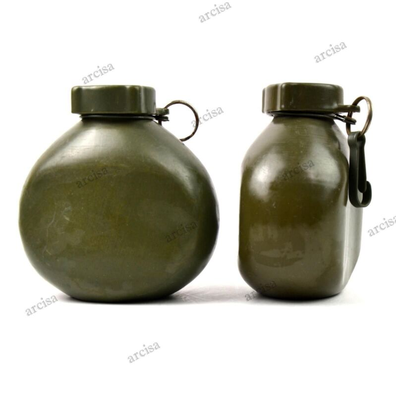 Original Hungarian M70 Army Drinking Flask Water Bottle Military Canteen