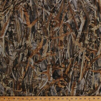 True Timber Camouflage Laser Cut Leaves Net Blind Mesh Fabric by Yard A508.56 Leaf Blind Material