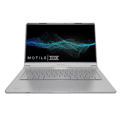 """MOTILE M141-SL 14"""" FHD Ryzen 3 3200U 2.6GHz 4GB RAM 128GB SSD Win 10 Home Silver"""