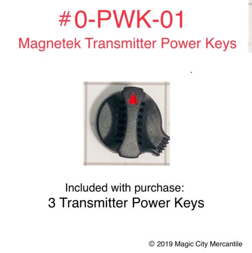 3 PACK TRANSMITTER POWER START KEYS- Flex EX (0-PWK-01E) by MAGNETEK