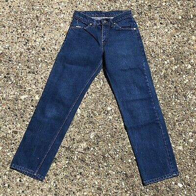Jeans-tag (vintage orange tab levis jeans Tag 28 Actual 26 USA made)