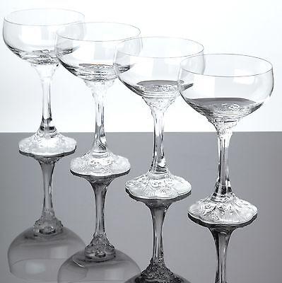 4 sektschalen rosenthal monbijou champagner gl ser classic. Black Bedroom Furniture Sets. Home Design Ideas