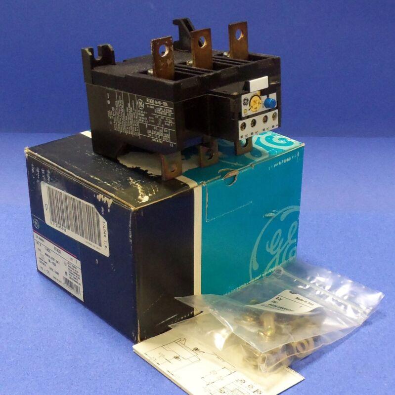 GENERAL ELECTRIC 90-120A MANUAL RESET OVERLOAD RELAY RTN3D NIB