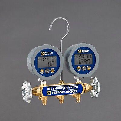 Yellow Jacket 46062 Series 41 Digital Manifold W 3-pack Plus Ii Hoses