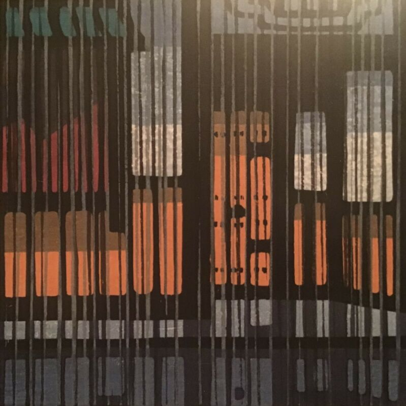 "Vtg 1974 Clifton Karhu Japanese Woodblock Print ""Spring"" Low Limited Edition Art"