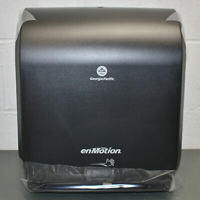 Georgia Pacific Enmotion Paper Towel Dispenser 59462a Touchless Automated Black