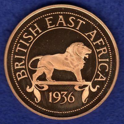 British East Africa, Edward VIII, 1936 Proof Retro Pattern Crown (Ref. t0616)