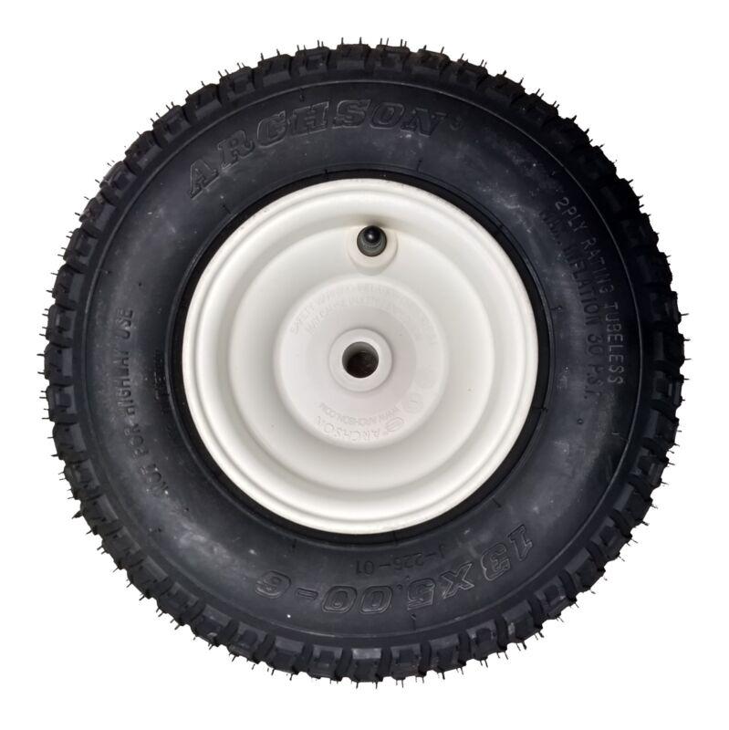Lesco Spreader Wheel and Tire Assembly13 x 5.00-6 Turf Saver IILesco Spreader