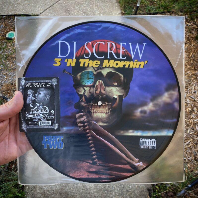 Dj Screw 3 N Tha Mornin picture Disc