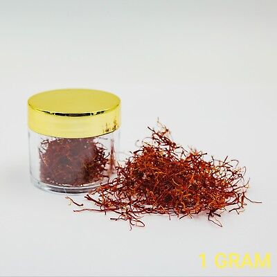 ORGANIC Saffron (BEST Quality In The World) *USA SELLER* - 1 GRAM- FREE (Best Quality Saffron In The World)