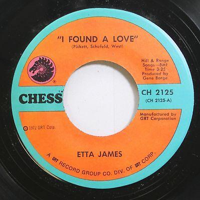 Hear! Northern Soul 45 Etta James - I Gefunden A Love / Nothing von