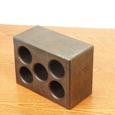 Mq Steel Precision Machinist Set-up Block Angle Parallel Iron 5 Hole 8x6x4