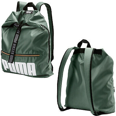 Puma Prime Street Backpack 2-Way Rucksack Unisex Bag Khaki 075410 02 A22A