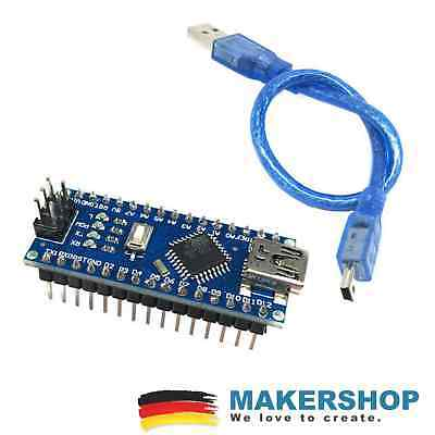 Usb-kabel Kit (Arduino Nano Starter Set Kit gelötet verlötet + USB Kabel Anschluss)