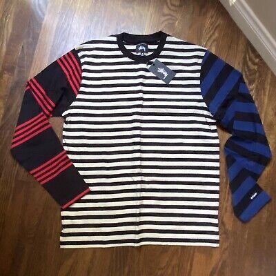 stussy long sleeve t shirt medium