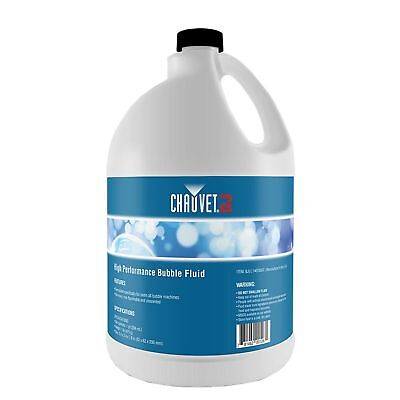 Chauvet High-Performance Non-Staining Unscented Bubble Fluid, 1-Gallon | BJU