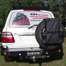 REAR WHEEL BAG STORAGE 4X4 OFF ROAD RECOVERY KIT SPARE RUBBISH Beldon Joondalup Area Preview