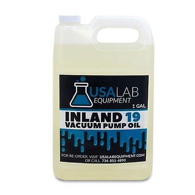 Inland 19 Vacuum Pump Oil 128oz 1 Gallon For Edwards Welch Leybold Agilent