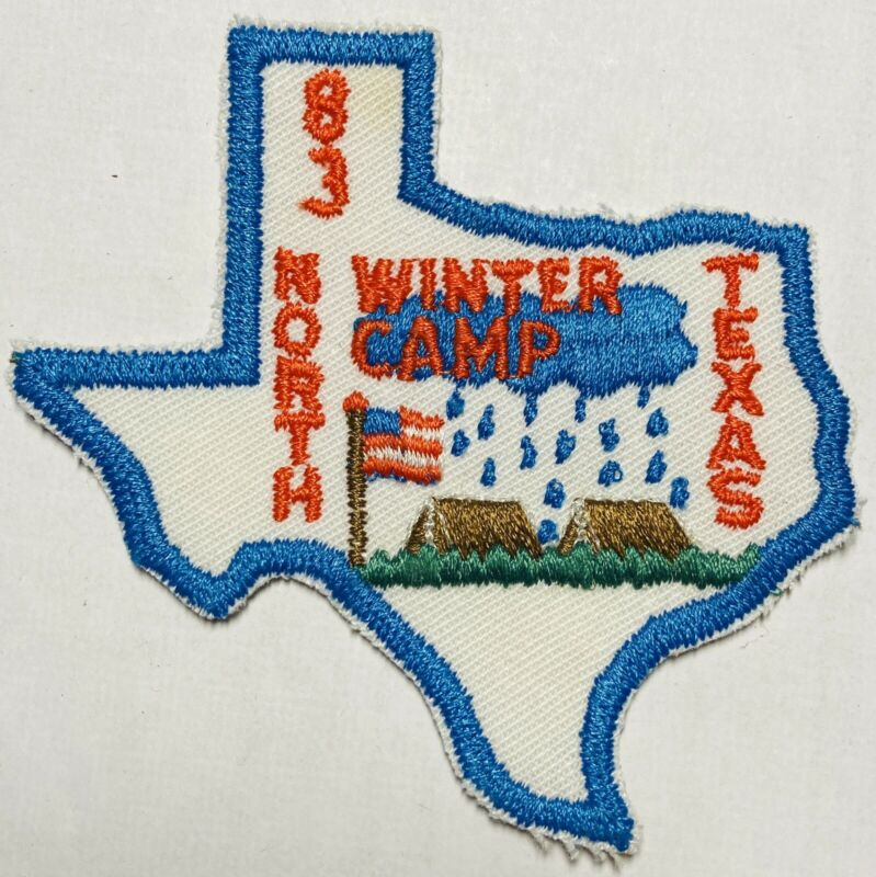 ROYAL RANGERS Patch 1983 Texas State Shape Winter Camp North Texas