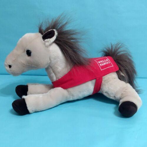 "Wells Fargo Pony HUNTER Legendary Horse Plush Stuffed Animal Toy 13"" 2018"