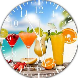 Delicious drinks wall Clock 10 will be nice Gift and Room wall Decor E33