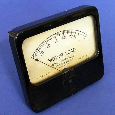 Prodex 0-100 Motor Load Indicator