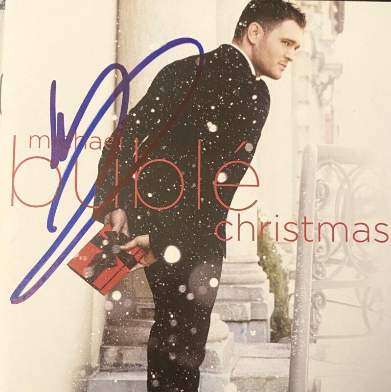 Michael Bublé Signed Autographed Cd Christmas