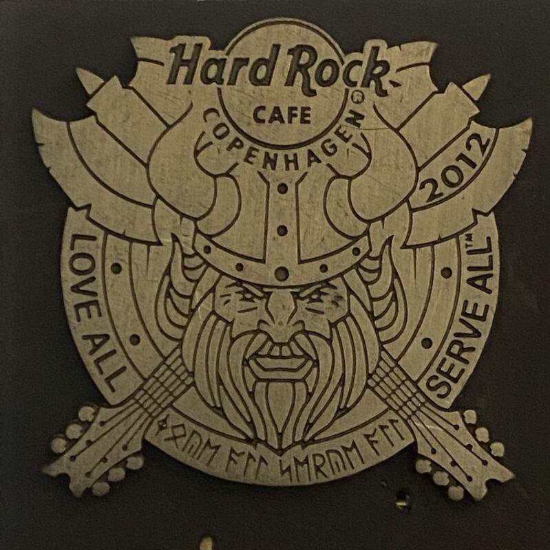 Hard Rock Cafe Copenhagen Viking Shield Pin