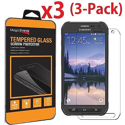 3-Circle Premium Tempered Glass Screen Protector for Samsung Galaxy S6 Active