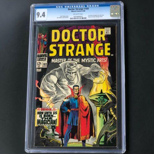 DOCTOR STRANGE #169 (1968) 💥 CGC 9.4 💥 ORIGIN & 1ST DR. STRANGE in OWN TITLE!