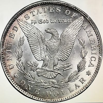 Click now to see the BUY IT NOW Price! 1891 CC MORGAN DOLLAR VAM 3 TOP 100 SPITTING EAGLE PCGS MS65 POP 3/2