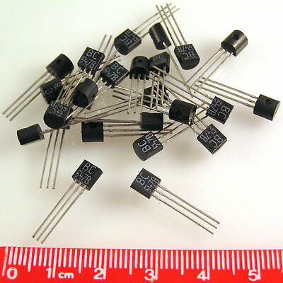 Bc547b Transistors Bjt Npn 45v 100ma To92 20 Pieces Oma063b