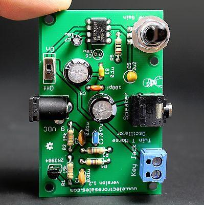 KIT BUILD HAM MORSE CODE/TELEGRAPH CW  PRACTICE OSCILLATOR - TWIN T Oscillator