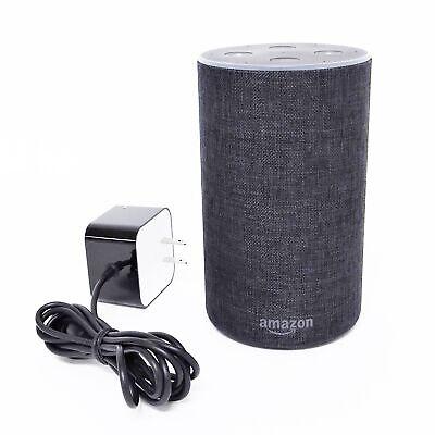 Amazon Echo 2nd Gen XC56PY Smart Assistant - Charcoal