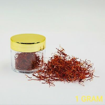 ORGANIC Saffron GRADE A (BEST Quality In The World) - 1 GRAM - FREE (Best Quality Saffron In The World)