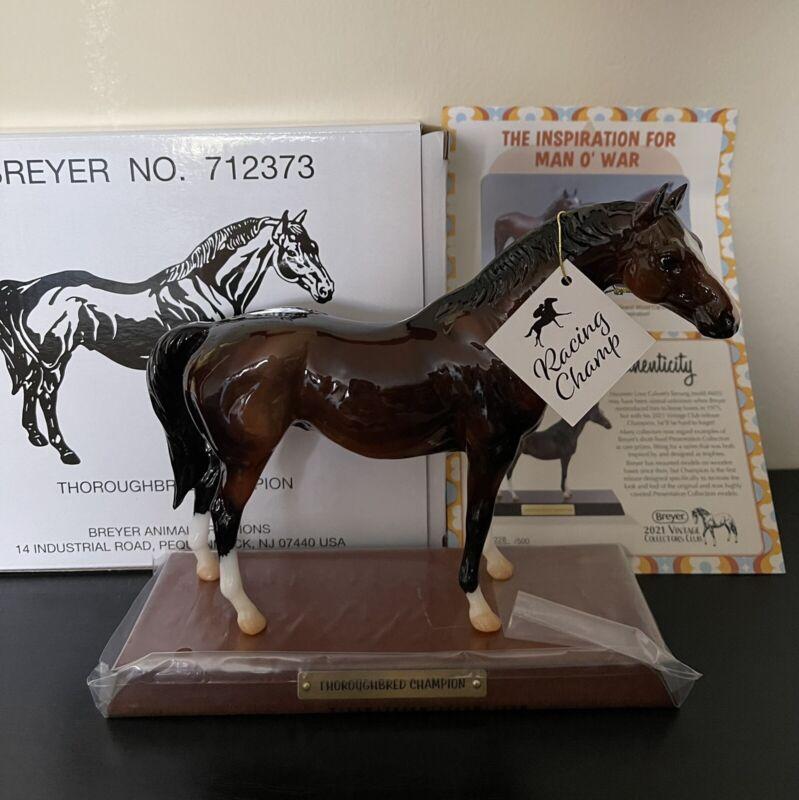 Breyer Vintage Club Thoroughbred Champion