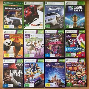 Xbox 360 Games for sale, some still sealed Browns Plains Logan Area Preview