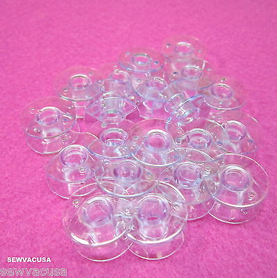 SINGER  Genuine Plastic Bobbins Simple 2263 3116  3221 3223 3229 3232 3337