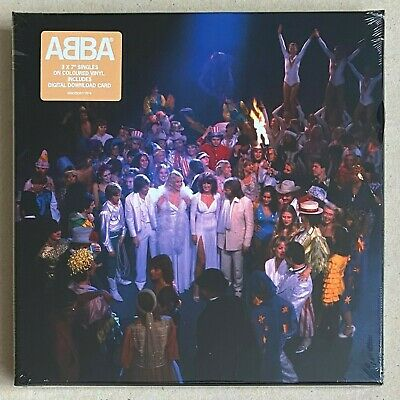 ABBA * SUPER TROUPER - THE SINGLES * LIMITED EDITION 7