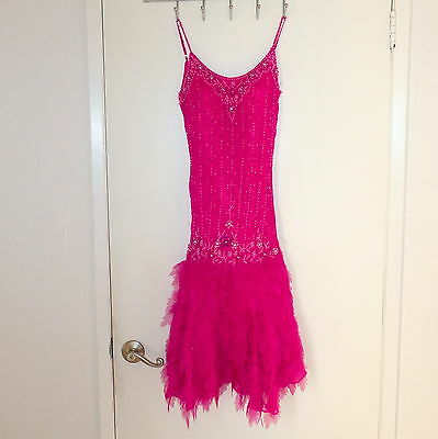 Halloween Costumes Inspiration (Women's Costume Halloween Dress Vintage Flapper Inspire Beaded Pink INTERLUDE)