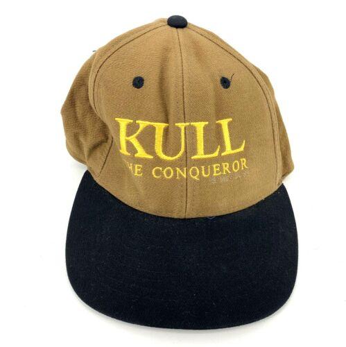 Vintage 1997 Kull the Conqueror Movie Hat Cap RARE Promo Strapback Mohr
